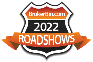 BrokerBin Roadshow logo
